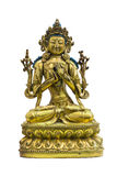 Estátua do budismo tibetano Fotografia de Stock Royalty Free