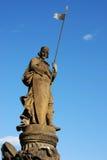 Estátua do cavaleiro Imagens de Stock Royalty Free