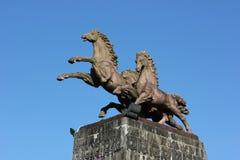 Estátua do cavalo Fotografia de Stock Royalty Free