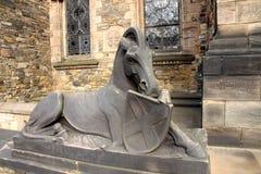 Estátua do cavalo Fotografia de Stock