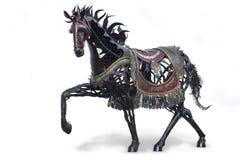 Estátua do cavalo de ferro fotos de stock royalty free