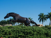 Estátua do cavalo de Lely Imagens de Stock Royalty Free