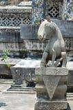 Estátua do cavalo em Wat Arun Fotografia de Stock Royalty Free