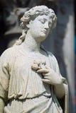 Estátua do cemitério imagens de stock
