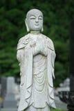 Estátua do cemitério fotografia de stock royalty free