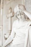 Estátua do cemitério Imagem de Stock Royalty Free