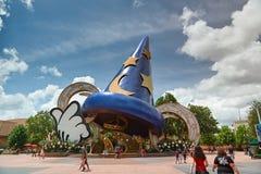 Estátua do chapéu do rato de Mickey Foto de Stock