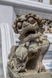 Estátua do chinês Foo Dog imagens de stock