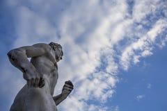 Estátua do corredor de Brigghton de Steve Ovett Foto de Stock
