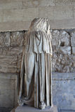 Estátua do culto de Apollo Patroos Imagens de Stock