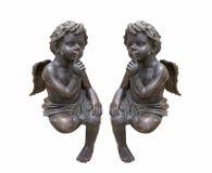 Estátua do cupido Imagem de Stock Royalty Free