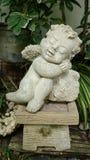 Estátua do cupido Imagem de Stock