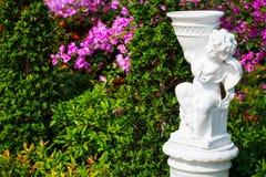 Estátua do cupido Fotografia de Stock
