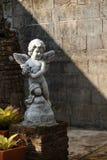 Estátua do cupido Fotos de Stock