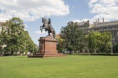 A estátua do czi Ferenc do ³ do kà do ¡ de Rà em Budapest imagem de stock royalty free