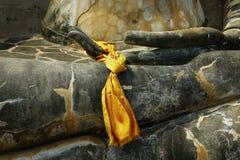 Estátua do detalhe de buddha Imagens de Stock