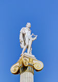 Estátua do deus Apollo, Atenas, Greece Fotografia de Stock
