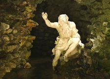 Estátua do deus do rio imagens de stock