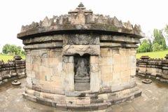 Estátua do deus Ganesha no templo hindu Sambisari foto de stock royalty free