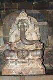 Estátua do deus Ganesha no templo Prambanan fotografia de stock royalty free