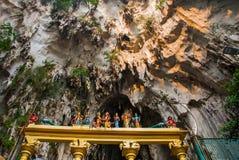 A estátua do deus hindu em Batu cava, Kuala Lumpur, Malásia imagem de stock
