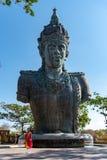 Estátua do deus Wisnu imagens de stock royalty free