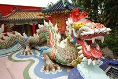 Estátua do dragão Fotografia de Stock
