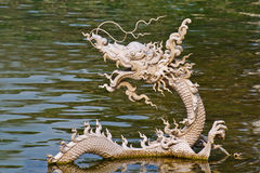 Estátua do dragão Foto de Stock Royalty Free