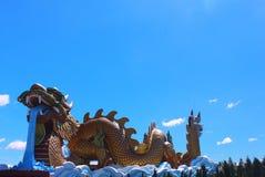 Estátua do dragão Foto de Stock
