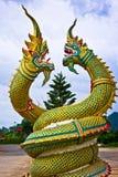 Estátua do dragão em Tailândia Foto de Stock Royalty Free