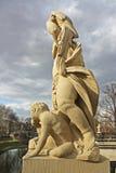 A estátua do Dresden Imagem de Stock