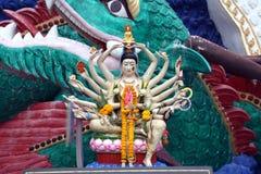Estátua do druga da deusa imagens de stock