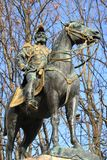Estátua do duque do d'Este-Guelph de Charles de Brunsvique, Genebra, Switz Foto de Stock Royalty Free