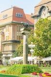 estátua do Ela-lobo de Timisoara Imagens de Stock
