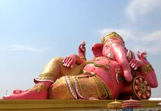 Estátua do elefante Imagens de Stock Royalty Free