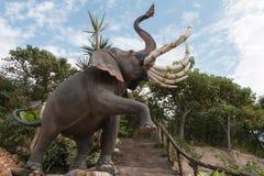 A estátua do elefante Fotos de Stock Royalty Free