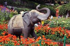 Estátua do elefante Imagem de Stock Royalty Free