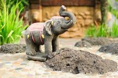 Estátua do elefante asiático. Foto de Stock