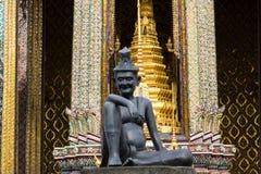 Estátua do eremita Imagens de Stock Royalty Free