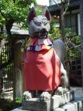Estátua do espírito japonês do Fox Foto de Stock Royalty Free
