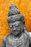 Estátua do estilo do Khmer Fotografia de Stock