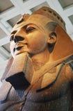 Estátua do faraó Ramses, Londres, Inglaterra, Reino Unido fotografia de stock royalty free