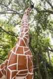 Estátua do girafa Foto de Stock