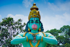 Estátua do hanuman da carga imagens de stock royalty free