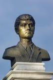 Estátua do herói Fotos de Stock Royalty Free