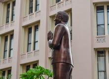 Estátua do homem em Colombo, Sri Lanka foto de stock