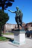 Estátua do imperador Augustus (Roma) imagens de stock royalty free