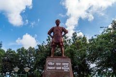 Estátua do indiano político Foto de Stock
