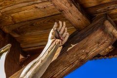 Estátua do Jesus Cristo crucified imagem de stock
