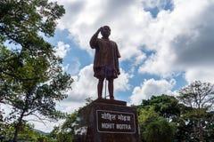 Estátua do líder político indiano Imagens de Stock